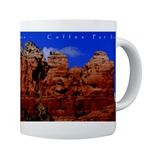 Sedona Coffee Pot Sky Mug, Sedona, mugs, Sedona mugs, gifts, Sedona Gifts, scenic, landscape, photos, photographs, canyons & mesas, desert, creeks, rivers, mountains, arizona, Sonoran desert, photography, Red Rocks,cafepress, personalized mugs, personalized name mugs