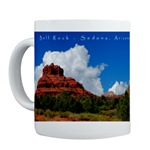Sedona Bell Rock Cloud Mug, Sedona, mugs, Sedona mugs, gifts, Sedona Gifts, scenic, landscape, photos, photographs, canyons & mesas, desert, creeks, rivers, mountains, arizona, Sonoran desert, photography, Red Rocks,cafepress, personalized mugs, personalized name mugs
