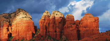 Red Rock Crossing, Sedona, Red Rocks, Personalized, Mug, MugNameLink