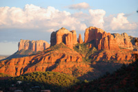 Cathedral Rock, Sedona AZ, Southwest, Red Rock, Photograph by Victor Cariri