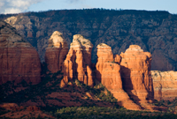 Coffee Pot Rock, Sedona AZ, Southwest, Red Rock, Photograph by Victor Cariri