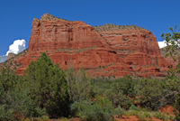 Courthouse Butte, Sedona AZ, Southwest, Red Rock, Photograph by Victor Cariri