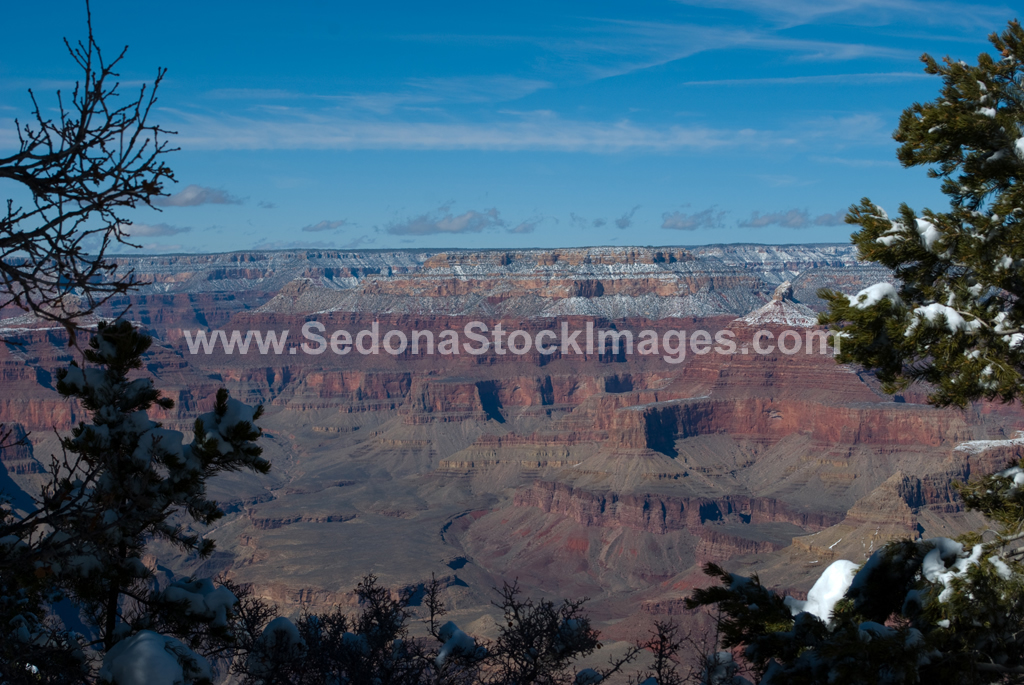 GCSnow2868.jpg, Sedona Stock Images, Sedona Stock Photo, Landscape Photographer Victor Cariri, Mather Point