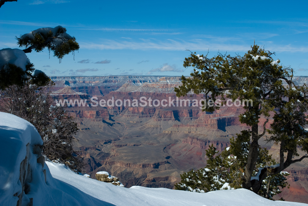 GCSnow2872.jpg, Sedona Stock Images, Sedona Stock Photo, Landscape Photographer Victor Cariri, Mather Point