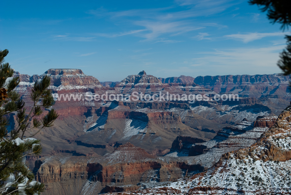 GCSnow2875.jpg, Sedona Stock Images, Sedona Stock Photo, Landscape Photographer Victor Cariri, Mather Point