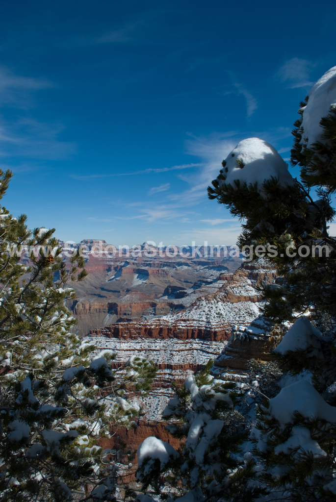 GCSnow2876.jpg, Sedona Stock Images, Sedona Stock Photo, Landscape Photographer Victor Cariri, Mather Point