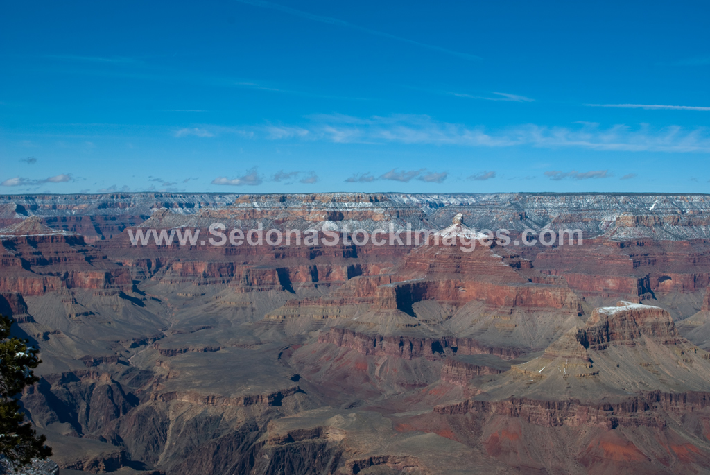 GCSnow2889.jpg, Sedona Stock Images, Sedona Stock Photo, Landscape Photographer Victor Cariri, Yavapai Point