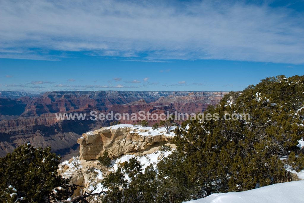 GCSnow2994.jpg, Sedona Stock Images, Sedona Stock Photo, Landscape Photographer Victor Cariri, Mohave Point