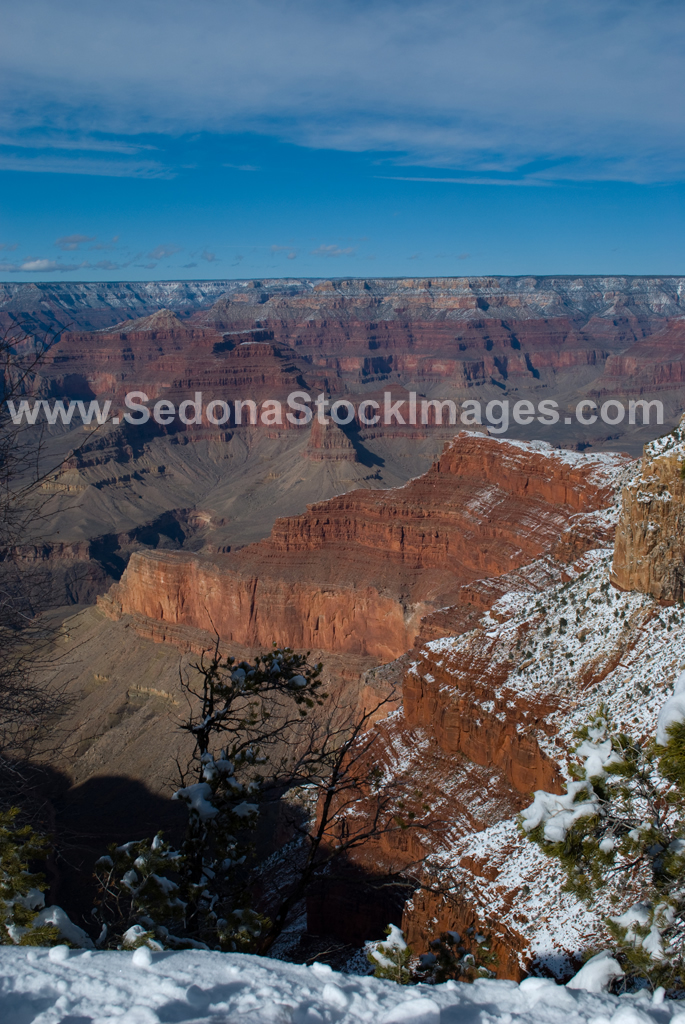 GCSnow3005.jpg, Sedona Stock Images, Sedona Stock Photo, Landscape Photographer Victor Cariri, Mohave Point