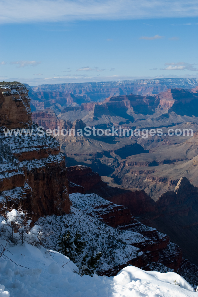 GCSnow3013.jpg, Sedona Stock Images, Sedona Stock Photo, Landscape Photographer Victor Cariri, Mohave Point