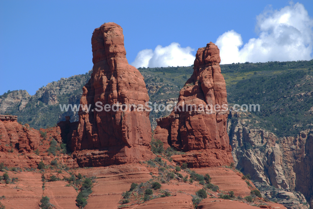 SRR050.jpg, Sedona Stock Images, Sedona Stock Photo, Landscape Photographer Victor Cariri, Two Sisters