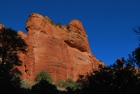 Fay Canyon Trail, Secret Mountain, Oak Creek,  Sedona AZ, Southwest, Red Rock, Photograph by Victor Cariri