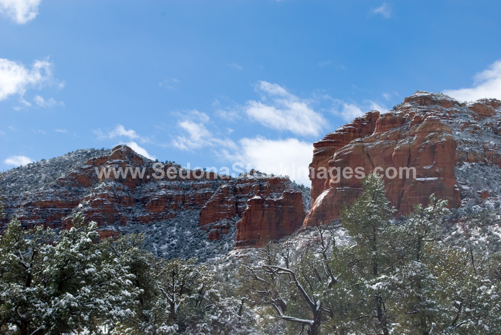 SedonaSnow2826.jpg, Sedona Stock Images, Sedona Stock Photo, Landscape Photographer Victor Cariri, Snow over Sedona