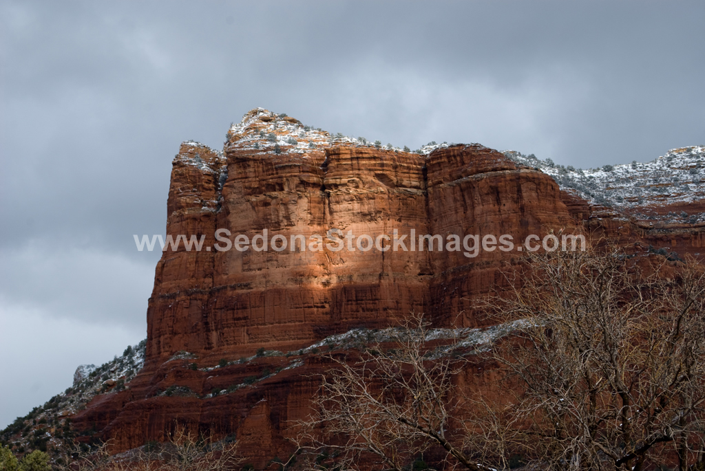 SedonaSnow2853.jpg, Sedona Stock Images, Sedona Stock Photo, Landscape Photographer Victor Cariri, Snow over Sedona