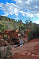 Wilson Trail,  Sedona AZ, Southwest, Red Rock, Photograph by Victor Cariri